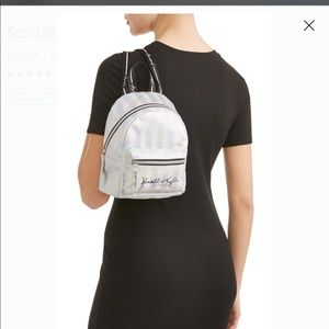 NWT Kendall & Kylie Iridescent Mini Backpack